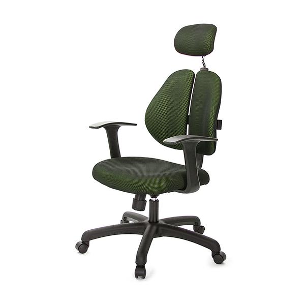 GXG 雙背涼感 電腦椅 (T字扶手) 型號2995 EA