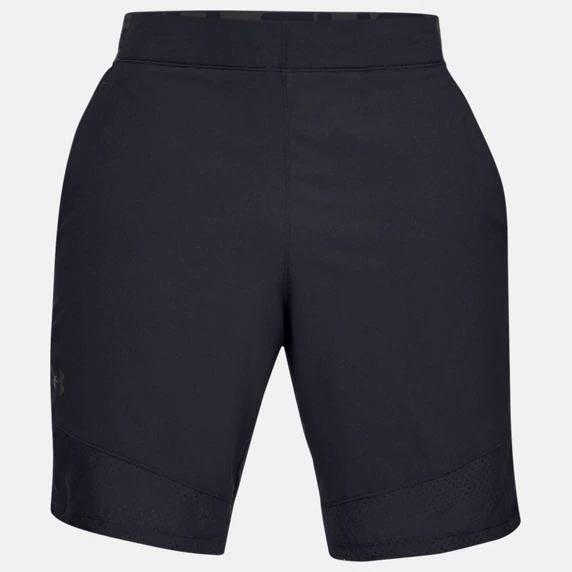 Under Armour UA Vanish Woven 男裝 短褲 訓練 透氣 排潮 口袋 高強度運動 黑【運動世界】1328654-001
