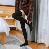 秋冬加絨加厚款假大腿連褲襪春秋防勾絲假高筒長筒過膝襪拼接絲襪  橙子精品