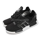 adidas 休閒鞋 NMD_R1.V2 黑 白 三葉草 Boost 愛迪達 男鞋 女鞋 運動鞋 【ACS】 GW7690