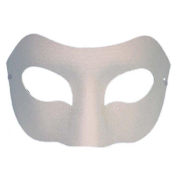 半罩面具 彩繪面具 空白面具(加厚)/一袋50個