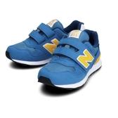 New Balance 中小童藍黃色休閒運動童鞋-NO.PO313BY