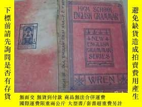 二手書博民逛書店HIGH罕見SCHOOL ENGLISH GRAMMARY195