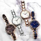Kimio金米歐 羅馬時刻 氣質陶瓷腕錶 防水手錶 手鍊錶 細手環 玫瑰金 女錶 K6263