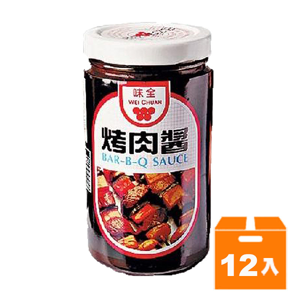 味全 烤肉醬 250g (12入)/箱 【康鄰超市】