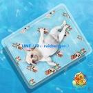 寵物冰墊防咬夏天睡墊用品夏季涼席冰席貓咪冰墊【櫻田川島】