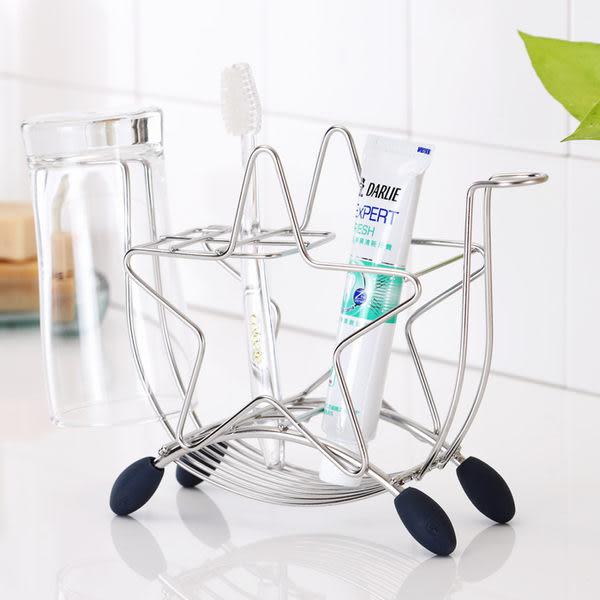 牙刷架 置物架【E0001】獨家設計不鏽鋼星星牙刷架 MIT台灣製 完美主義