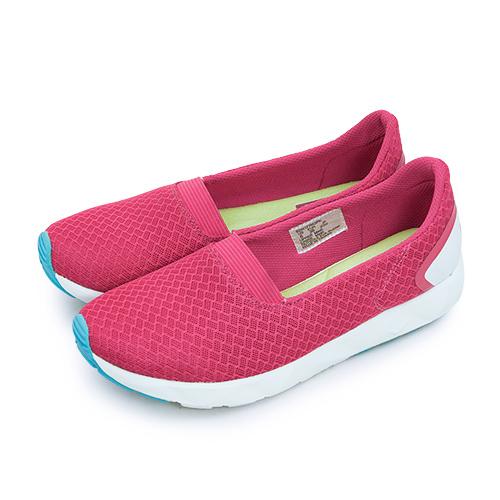 LIKA夢 PONY 極簡時尚休閒鞋 FREE 科技記憶鞋墊系列 桃紅綠 62W1FR63PK 女