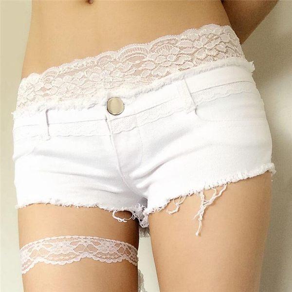 衣美姬♥ 夏季夜店低腰 毛邊 性感短褲  休閒百搭款牛仔短褲