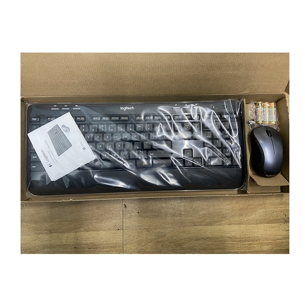 (US Version ) Logitech english MK520 Wireless Keyboard and Mouse Combo - Black/Grey T01