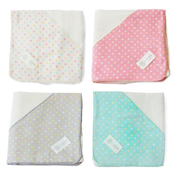 Nizio 跳跳糖嬰兒四層紗浴包巾|浴巾|包巾(4色可選)