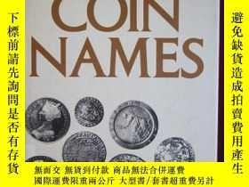 二手書博民逛書店Dictionary罕見of Coin NamesY15470