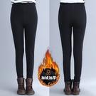 大尺碼秋裝女胖mm200斤打底褲冬裝加絨加厚外穿保暖修身顯瘦長褲子 週年慶降價
