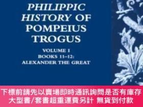 二手書博民逛書店Justin s罕見Epitome Of The Philippic History Of Pompeius Tr