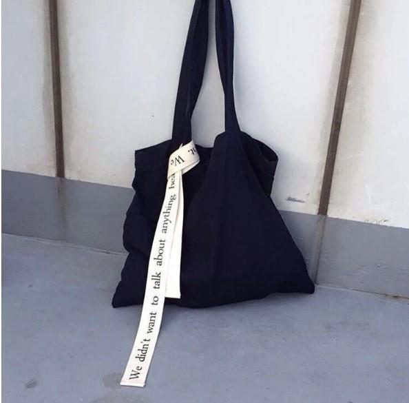 INS6 購物袋 韓國同款 unfold百搭街頭布條布袋
