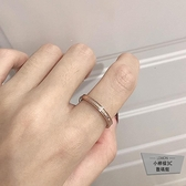 戒指女時尚簡約氣質個性食指戒指【小檸檬3C】