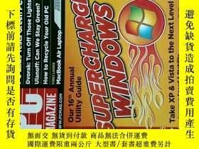 二手書博民逛書店PC罕見Magazine 2008年4月 英文個人電腦雜誌 可用樣板間道具雜誌Y114412