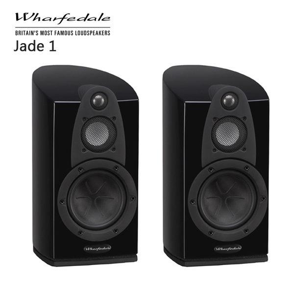 【結帳再打折+24期0利率】英國 WHARFEDALE JADE 1 三音路 書架型喇叭 (一對) 黑色鋼烤 公司貨
