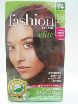 華世~歐絲特植物性染髮劑74號(紅銅色)Copper Blond
