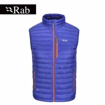 RAB 英國 | 男款 Microlight 保暖羽絨背心 | 秀山莊(QDA57)