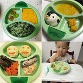 萬聖節狂歡 寶寶餐具吸盤碗嬰幼兒注水保溫碗輔食吃飯碗防打翻兒童分格餐盤 桃園百貨