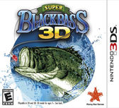 3DS Super Black Bass 3D 超級黑鱸魚 3D(美版代購)