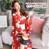 日本和服浴袍衣cosplay女仆裝演出服【聚寶屋】
