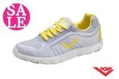PONY START NEO系列 女款 輕量慢跑鞋 運動鞋 跑步鞋 零碼出清 J9450#灰黃◆OSOME奧森鞋業