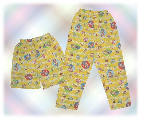【波克貓哈日網】日本兒童睡衣組◇早安少女組◇《110cm》黃色~~日本製
