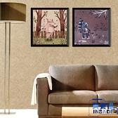 兒童房動物圖案裝飾畫背景墻壁畫臥室床頭掛畫卡通客廳墻畫【英賽德3C數碼館】