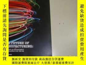 二手書博民逛書店THE罕見FUTURE OF MANUFACTURING A NEW ERA OF OPPORTUNITY AND