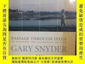 二手書博民逛書店Passage罕見Through IndiaY12800 Gary Snyder Shoemaker &amp