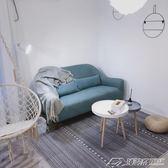 北歐現代幾何圖案秋冬客廳臥室床邊地毯ins風格地毯長方形訂製  潮流前線
