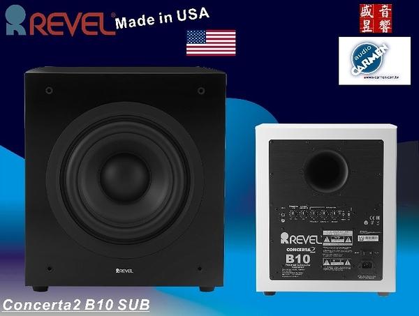 盛昱音響 ~ 美國 Revel Concerta2 B10 超低音喇叭峰值功率1500W ~ 網路價$74900元