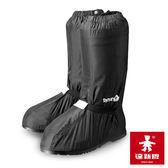 【達新牌】厚底型防雨鞋套『黑』RSDDM 防水 鞋套 雨具 雨鞋 雨衣 釣魚 登山 機車