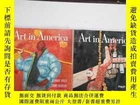 二手書博民逛書店art罕見in america (april 2000+marc