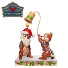 【正版授權】Enesco 奇奇蒂蒂 聖誕塑像 公仔 塑像 精品雕塑 聖誕節 迪士尼 Disney - 270187