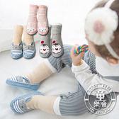 學步襪 襪子 寶寶 動物 防滑 仿皮 加厚 地板襪 BW