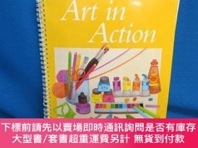 二手書博民逛書店Art罕見in Action Grade 1-動作藝術1年級Y414958 Guy Hubbard Holt