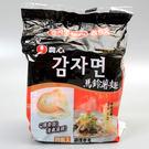 韓國【農心】馬鈴薯麵  4入(賞味期限:2019.04.11)
