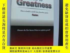 二手書博民逛書店如何成長爲傳大公司GROW罕見TO GREATNESS:How
