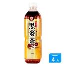 崇德發黑麥茶580mlx4罐【愛買】