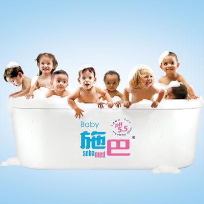 施巴 嬰幼兒洗髮乳2入~贈施巴旅行組