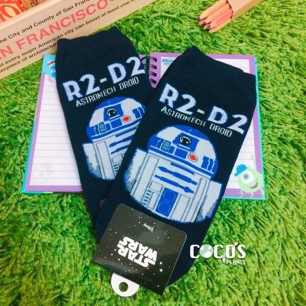 韓國正品 STAR WARS 星際大戰系列 短襪 造型襪 直版襪 襪子 R2-D2款 COCOS KO039