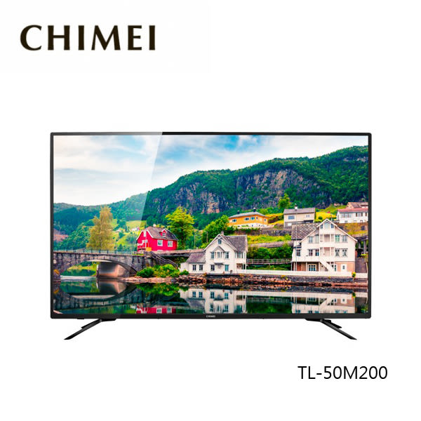 ▼24期0利率+結帳再折+送高級 HDMI線▼ CHIMEI 奇美 含視訊盒 液晶電視 TL-50M200 4K 50吋 公司貨