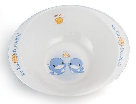 【奇買親子購物網】酷咕鴨KU.KU. 美耐皿-雙耳碗