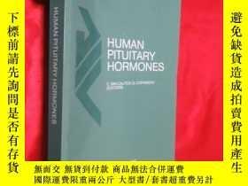 二手書博民逛書店Human罕見Pituitary Hormones: Circa