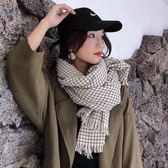【REICO HSU 許瑋玲】格紋圍巾(藍色/卡其色)