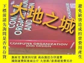 二手書博民逛書店Computer罕見organization and desig