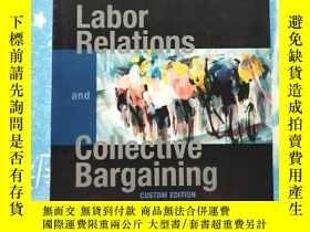 二手書博民逛書店labor罕見relations and collective